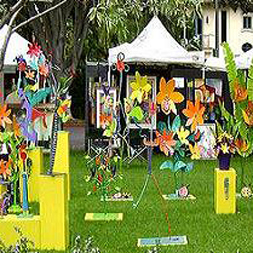 Beverly Hills Art Show in the Gardens
